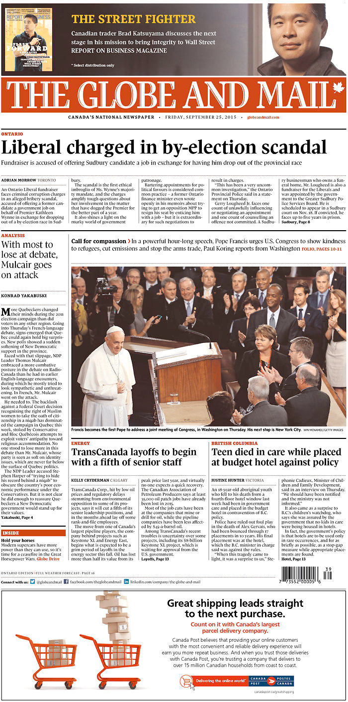 Globe_Mail_25_Septembrie_2015